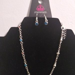 Necklaces with matching earrings and braclet